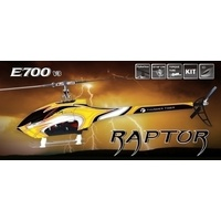 #Raptor E700V3 w/fibreglass body