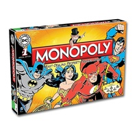 MONOPOLY DC COMICS ORIGINALS WMA001278