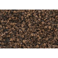 COARSE DARK BROWN BALLAST (BAG)