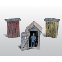 3 OUTHOUSES & MAN SC DETAILS