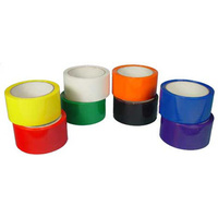 TAPE POLYPROPYLENE RED