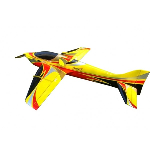 Sebart Mytho S F3A 125e RC Plane, ARF (Yellow / Black)